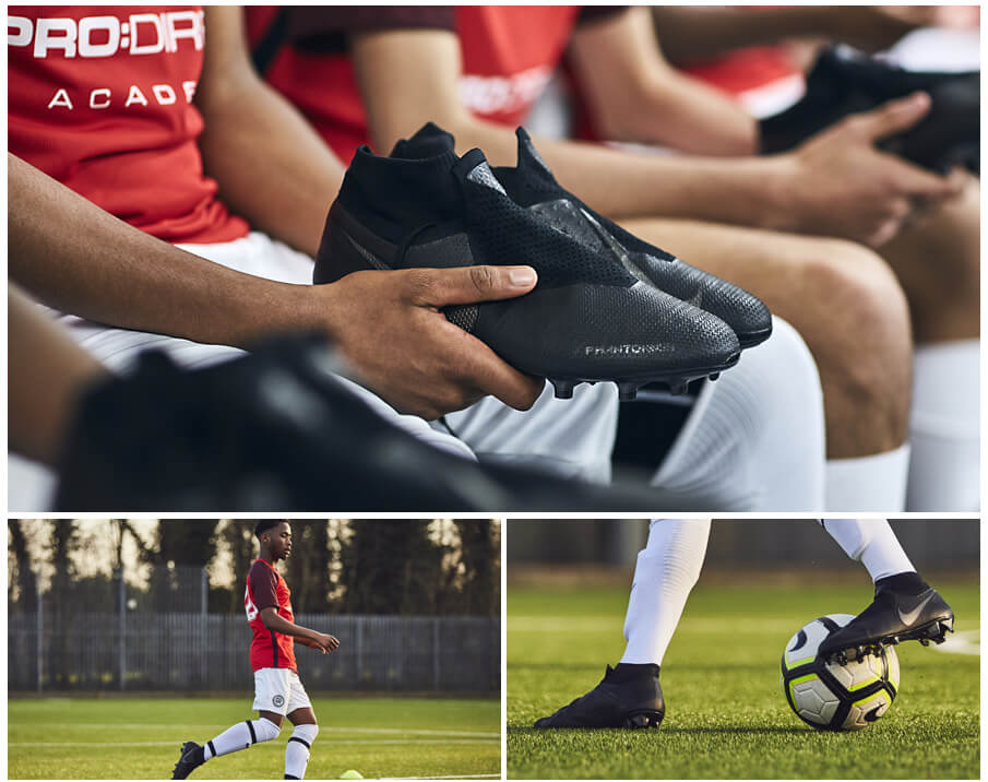 Pro:Direct Academy North London players put the Nike Phantom through its paces...