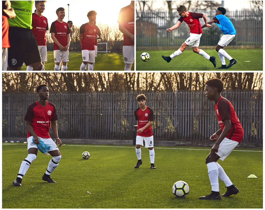 Nike Phantom tested on pitch by Pro:Direct Academy players.