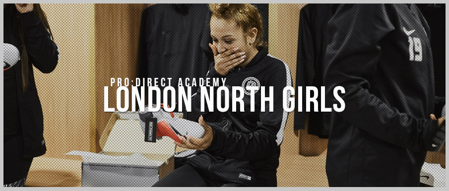 Pro:Direct Academy girls enjoy a Nike Phantom launch event at the prestigious  St George's Park.