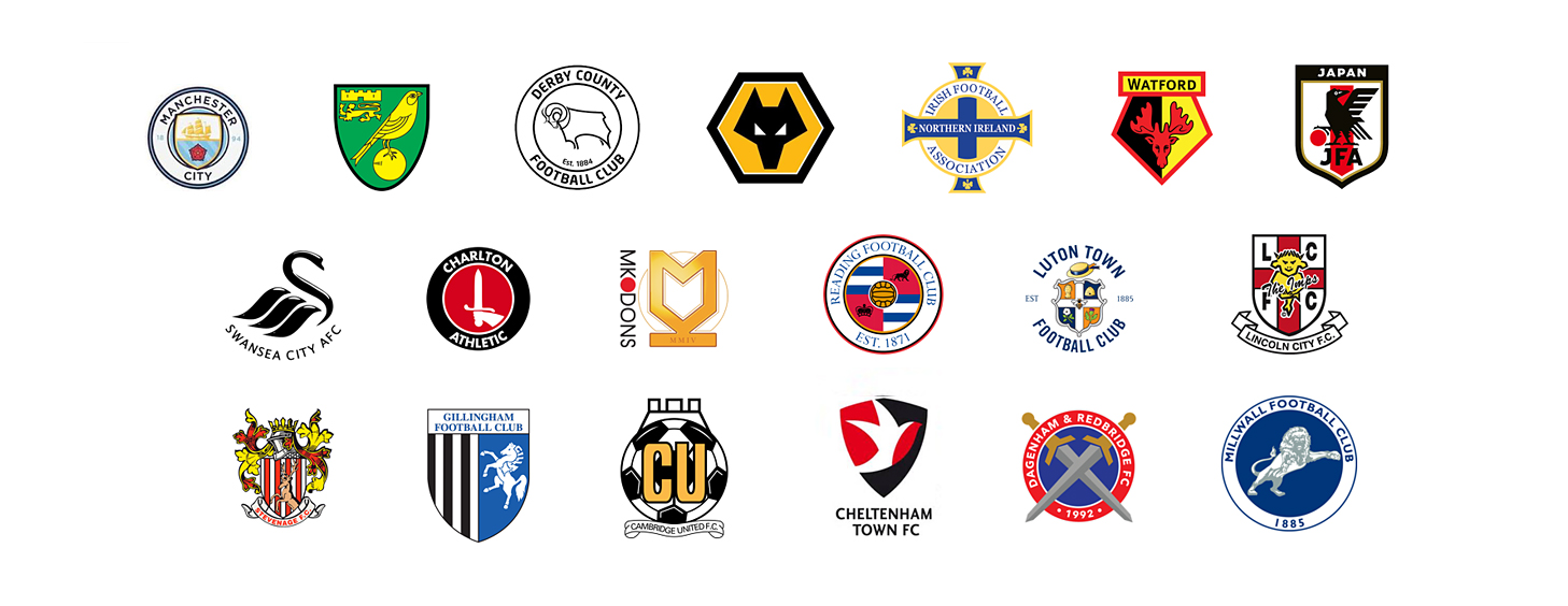 Some of the Clubs and International opponents played by Pro:Direct Academy Select Squad