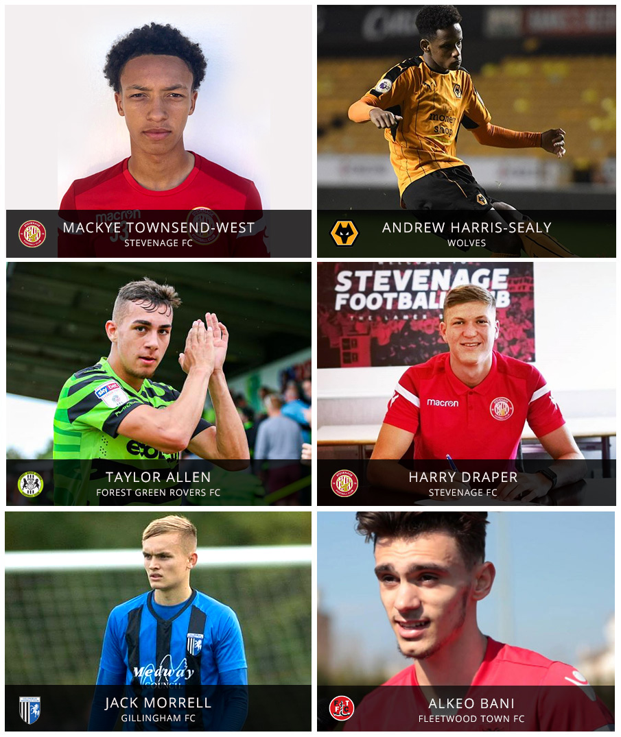 These Pro:Direct Academy players are now working hard at professional clubs.