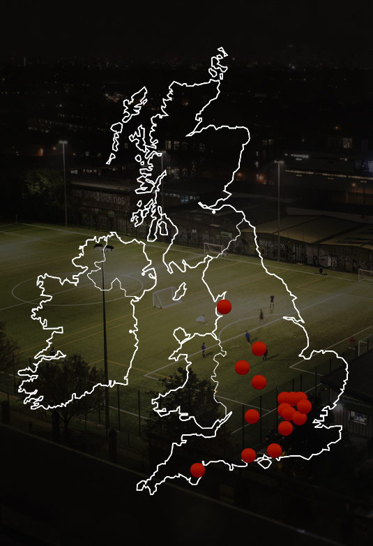 Pro:Direct Academy Centres across the UK